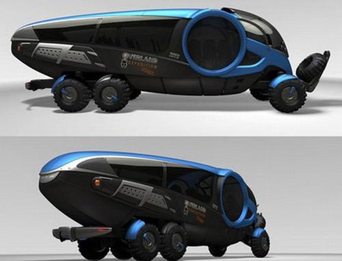 仿生科技,iveco Oex甲虫概念工程车 理想生活实验室 为更理想的生活
