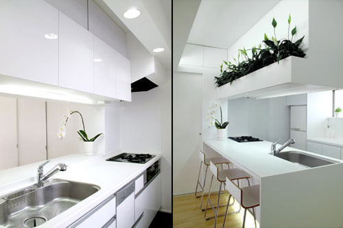 全套简洁时尚60平方小户型公寓室内设计