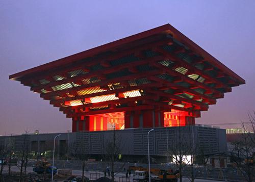 """中国 世博会/上次我们带来的是联通Unistore的logo设计""""好像在哪里见过"""",..."""
