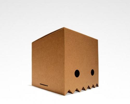 幼儿园纸箱子创意之作品呈现
