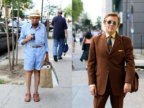 老年人时尚街拍系列之老头篇