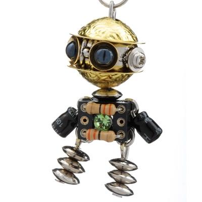 用鞋盒子手工制作机器人
