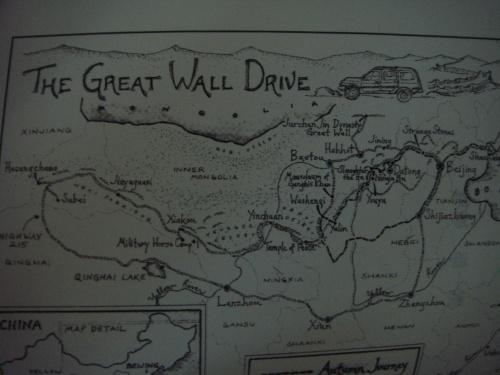 我喜欢这样的手绘地图