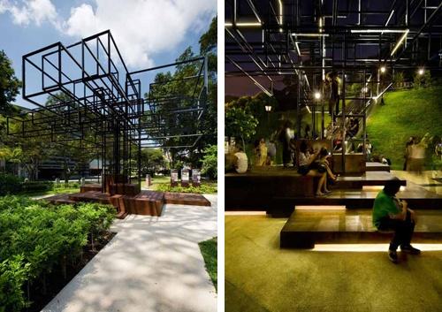 钢结构的树,对生活空间的再尝试