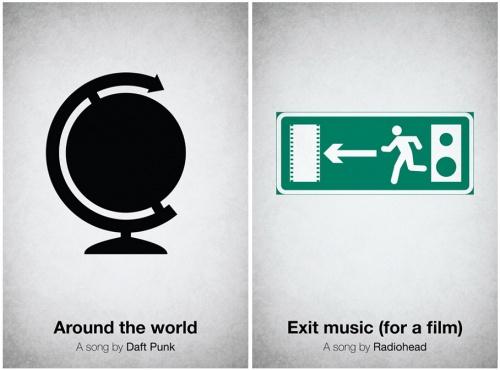 一首歌海报,viktor hertz的音乐招贴设计图片