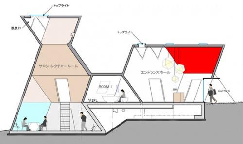 而且建筑内部结构和层次分明