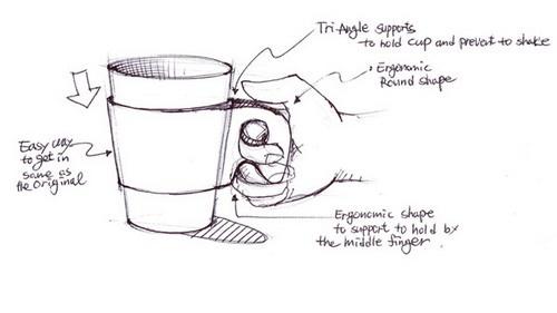产品设计手绘图简单