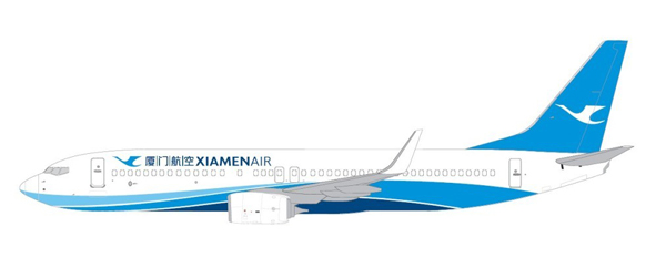"""相关信息: 厦门航空之前的 logo 名字是""""蓝天白鹭"""",飞机涂装名为"""""""