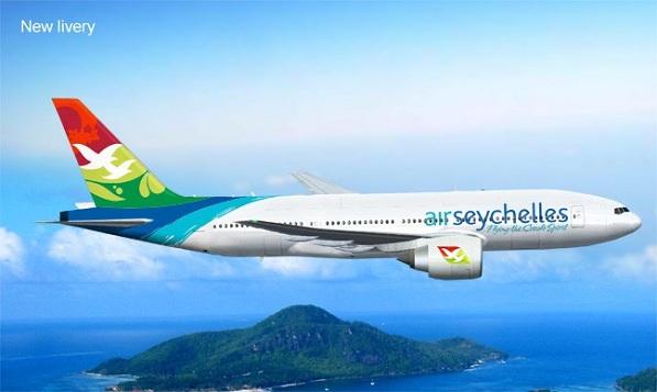 海岛风格的飞机航班,塞舌尔航空更换品牌形象