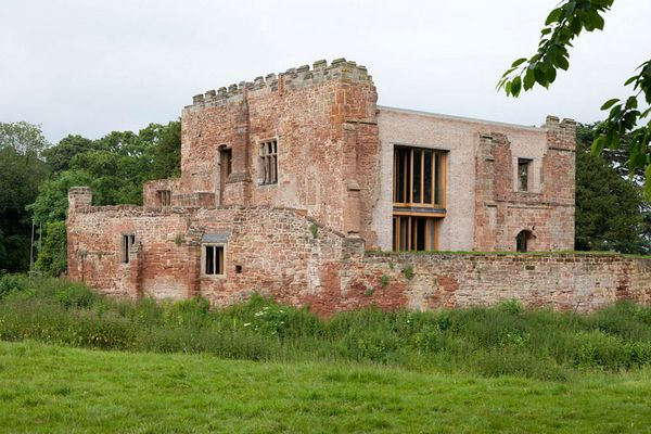 建筑师与考古学家的合作,将古老城堡变成酒店