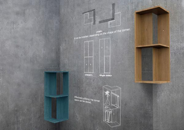 小角落里的大用处,充分利用每一寸空间   理想生活实验室 - 为更理想的生活