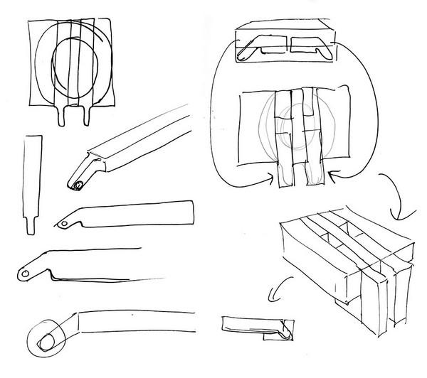 马桶工业设计手绘