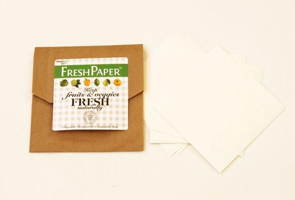 FreshPaper:垫一层纸,让食物保鲜时间更持久