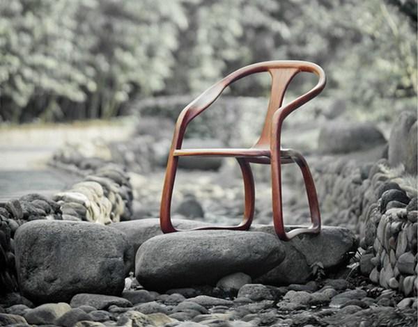 缘圆椅的风骨:一挥而就、笔意犹存