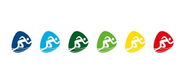 里约奥运会及残奥会体育图标公布