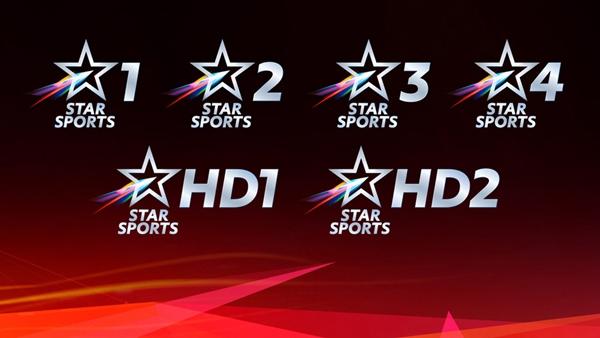 更多的期待,印度 Star Sports 频道换新台标