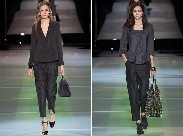 giorgio armani 在米兰时装周发布 2014 秋冬女装系列