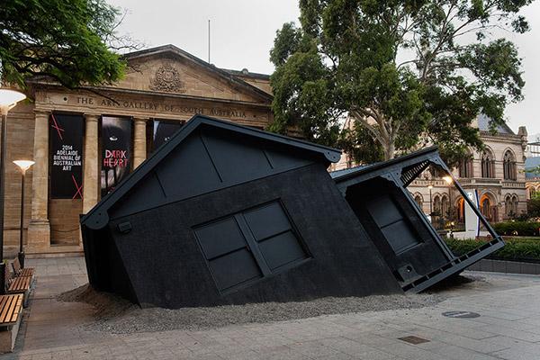 澳大利亚阿德莱德双年艺术展打造装置作品
