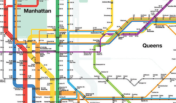 纽约地铁地图设计者 massimo vignelli 辞世