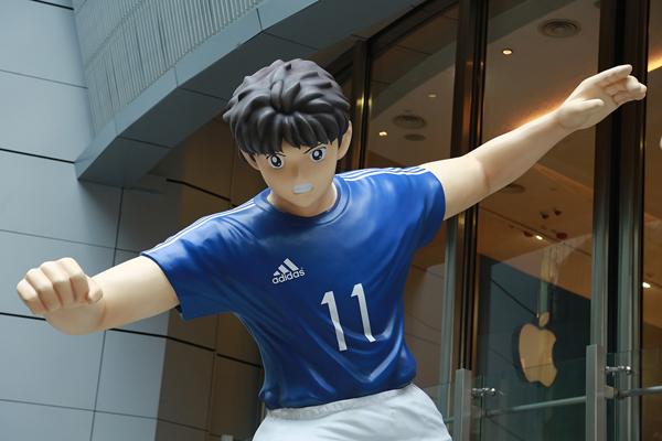 《adidas 在港举办《足球小将》主题展览》