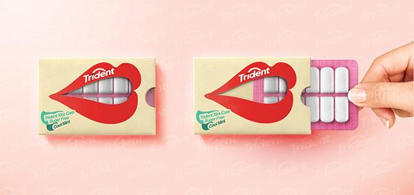 超创意口香糖包装
