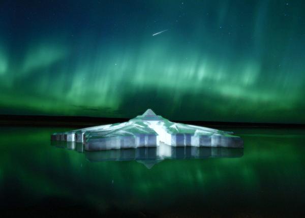 雪花里看北极光,KRYSTAL HOTEL 全新海上漂浮酒店将于 2016 年亮相 | 理想生活实验室 - 为更理想的生活
