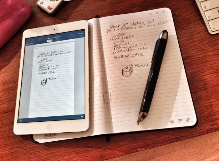 纸质笔记的数字化,Moleskine 携手 Livescribe 打造智能交互笔记本   理想生活实验室 - 为更理想的生活