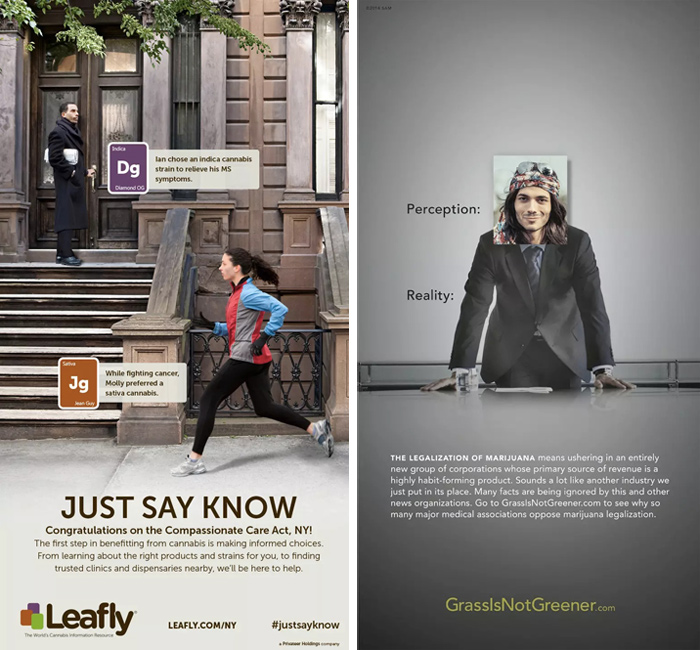 《纽约时报》成战场,大麻合法化引发广告大战 | 理想生活实验室 - 为更理想的生活