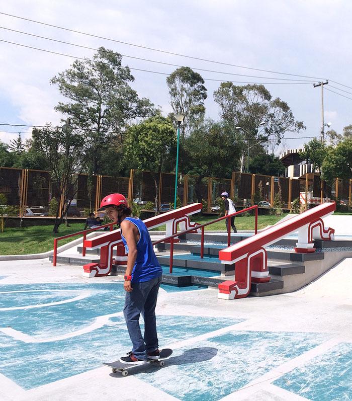 大神庙里玩滑板,NIKE SB 携墨西哥城政府打造滑板公园正式启用 | 理想生活实验室 - 为更理想的生活