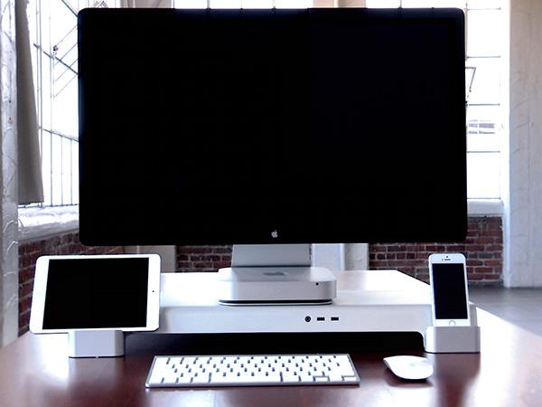 归纳你的桌面,苹果多功能底座 UNITI Stand | 理想生活实验室 - 为更理想的生活