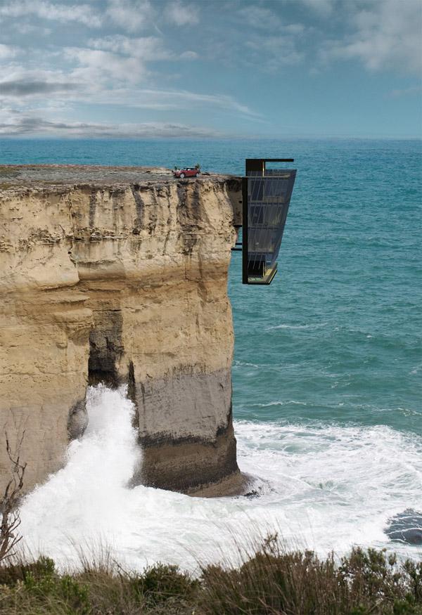 Cliff House:挂在海边的悬崖峭壁上 | 理想生活实验室 - 为更理想的生活