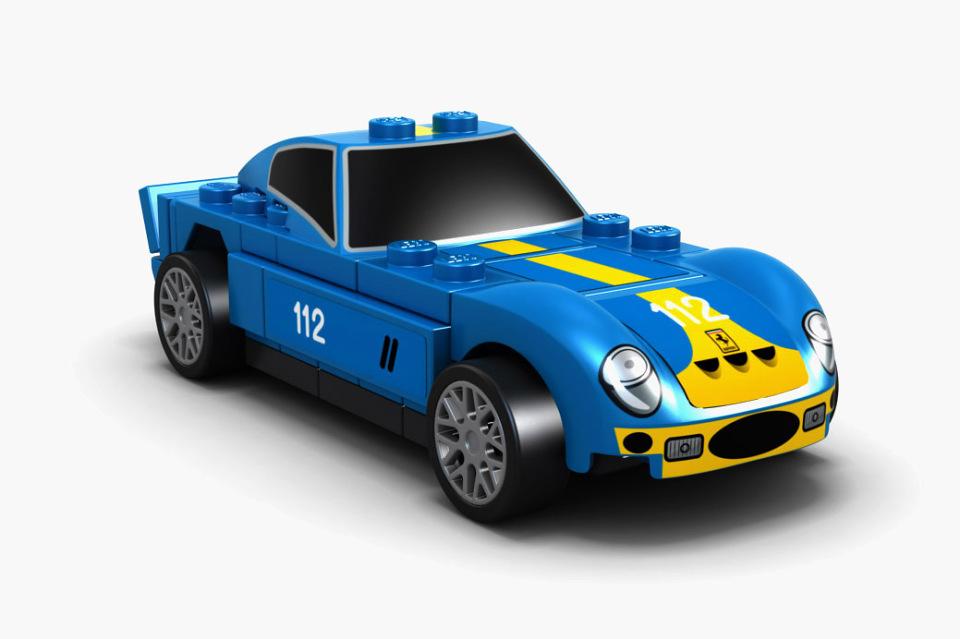 四款法拉利经典赛车再现,乐高携壳牌齐推玩具套装