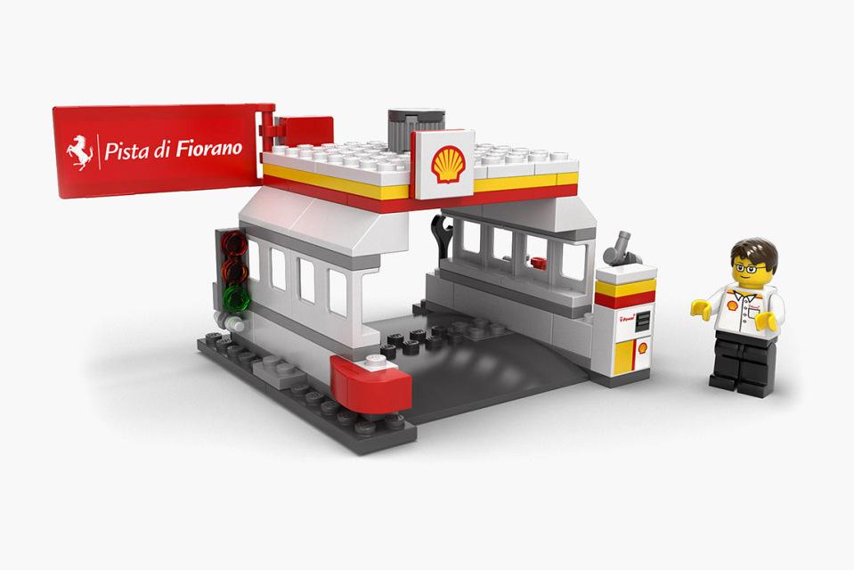 乐高玩具赛车图片