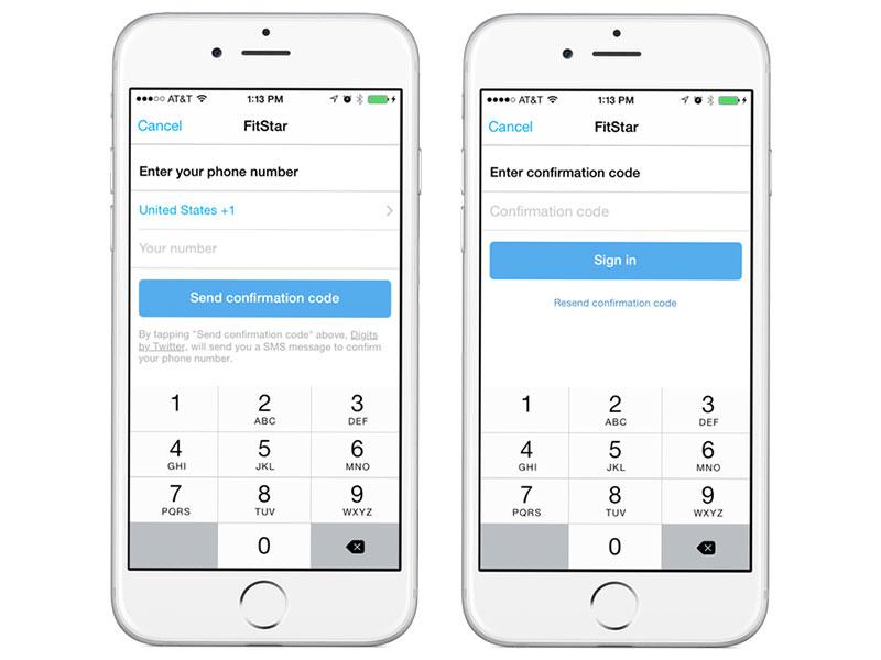 直接用电话号码登录,Twitter 推出第三方工具 Digits