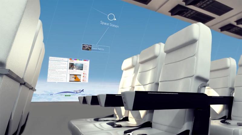 还记得维珍航空曾经玩笑的透明地板航班吗?英国 cpi 公司表示,透明地板可能没有,但没有窗户的航班将在未来 10 年内出现。从 cpi 日前公布的概念视频来看,他们计划以 OLED 屏取代机舱壁和座椅背,屏幕不仅会显示由相机拍到的机舱外画面,让乘客产生没有窗户的错觉,还能查看飞行状态、浏览网页新闻、照片等。相信未来乘坐飞机时,再也没人在乎能不能靠窗坐了。