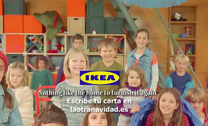 圣诞节的另一封信,IKEA 西班牙公司发布全新广告 | 理想生活实验室 - 为更理想的生活