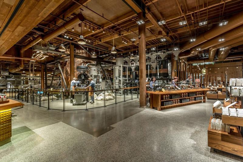 """打造""""咖啡剧院"""",全球首家星巴克原生态焙烤咖啡体验馆亮相西雅图   理想生活实验室 - 为更理想的生活"""