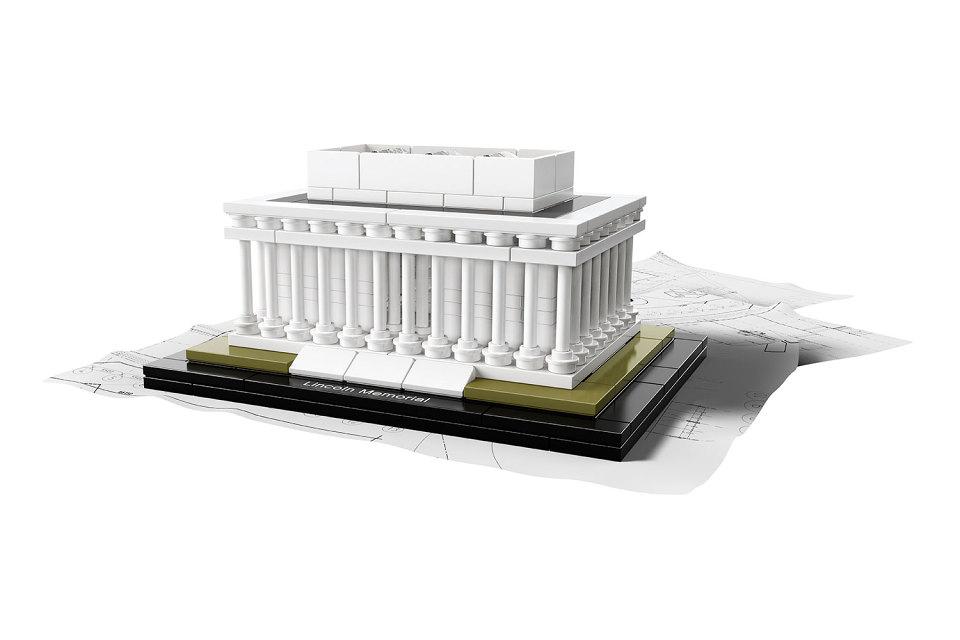 复刻白色林肯纪念堂,乐高 2015 建筑系列新品上市   理想生活实验室 - 为更理想的生活