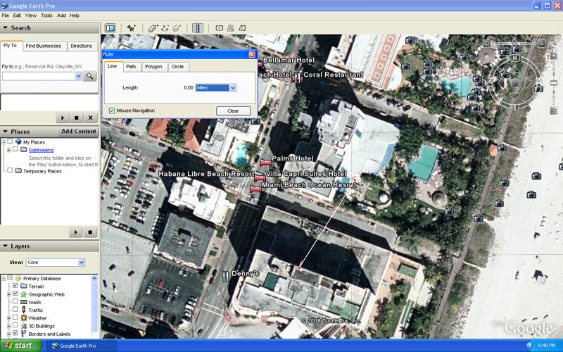 晰度、更多工具,399 美元的 Google Earth Pro