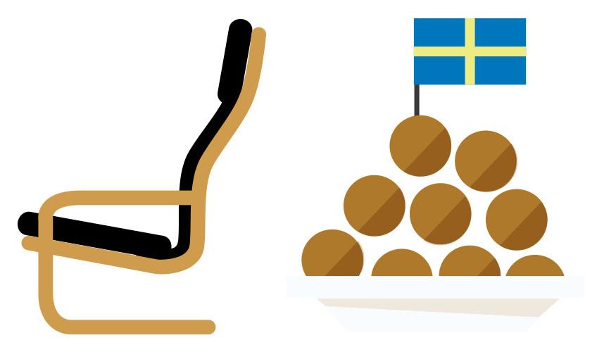 用Emoji的表情推出瑞典肉丸子,IKEA表达表情法制宣传方式包图片