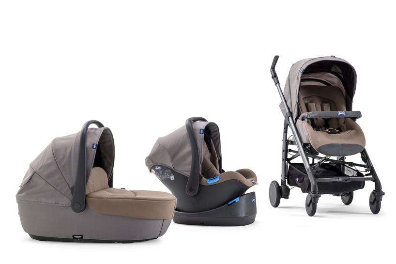 工业设计大师手中的婴儿车有何不同?看看 chicco 的 trio love 便知