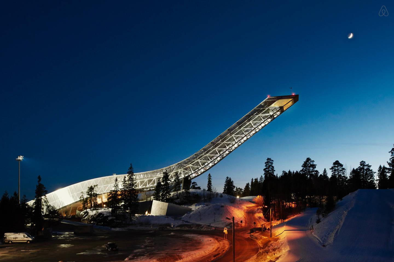 滑雪跳台住一晚,airbnb 再推 NightAt 奇居项目   理想生活实验室 - 为更理想的生活