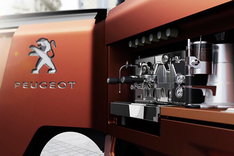 标致设计了一辆流动的餐车,举办 30 人派对没问题   理想生活实验室 - 为更理想的生活