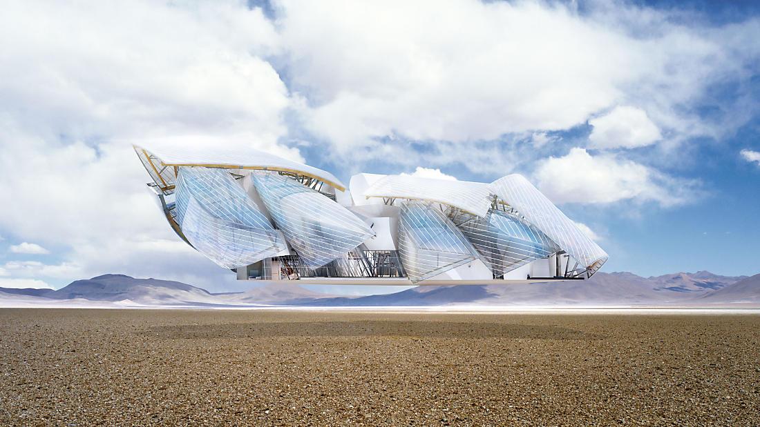 不只是建筑展,Frank Gehry 路易威登基金会建筑展今日登陆北京   理想生活实验室 - 为更理想的生活