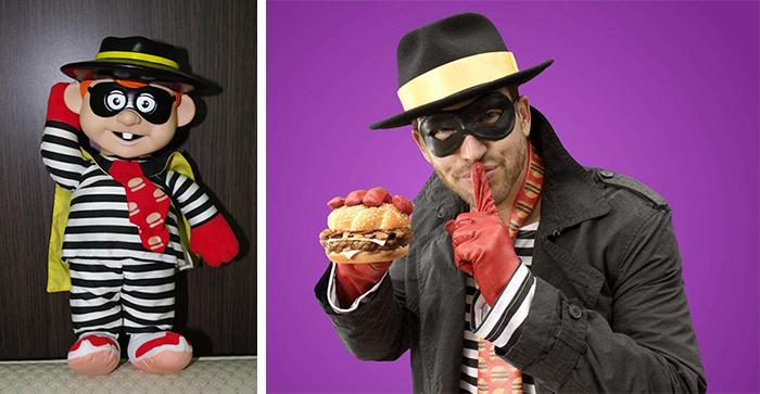 你知道汉堡王(Burger King)真的是有King的吗?考究的行头、金光闪闪的皇冠,外加一脸诡异的笑容,这位蓄着红发红胡子的中年大叔曾在 2003 年到 2011 年期间,一直担任汉堡王的吉祥物,负责在各个广告中搞笑。此后不久,汉堡王为了强调食物的新鲜和品质,改变了市场策略,于是国王也就慢慢淡出了人们的视线。