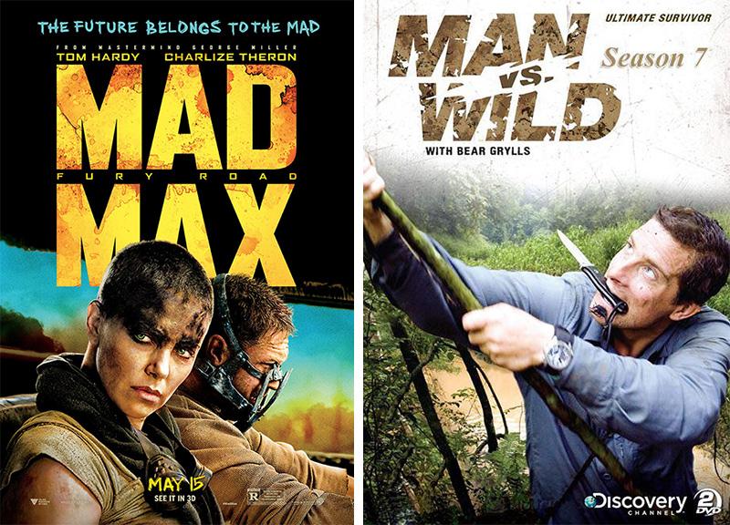 彭于晏最近在看的《疯狂的麦克斯 4》和《荒野求生》