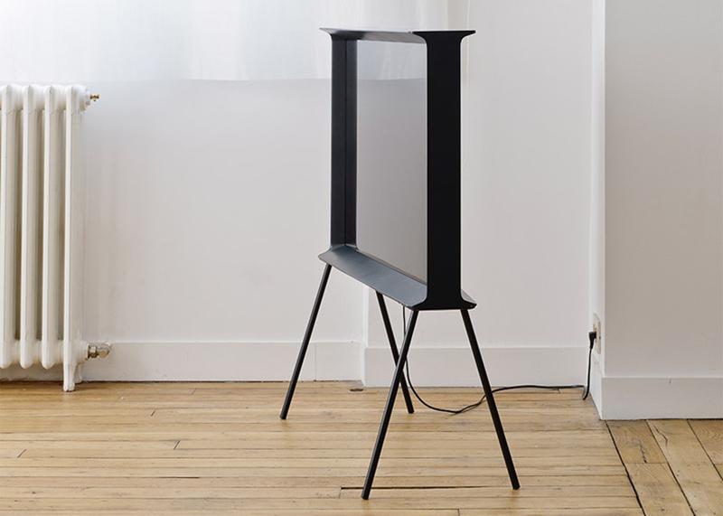 和法国最好的设计工作室联手,三星做了一台像画框的电视机图片