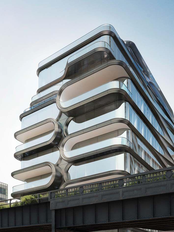 High Line Park 有了新伙伴,Zaha Hadid 操刀的豪华公寓宣布开售 | 理想生活实验室 - 为更理想的生活