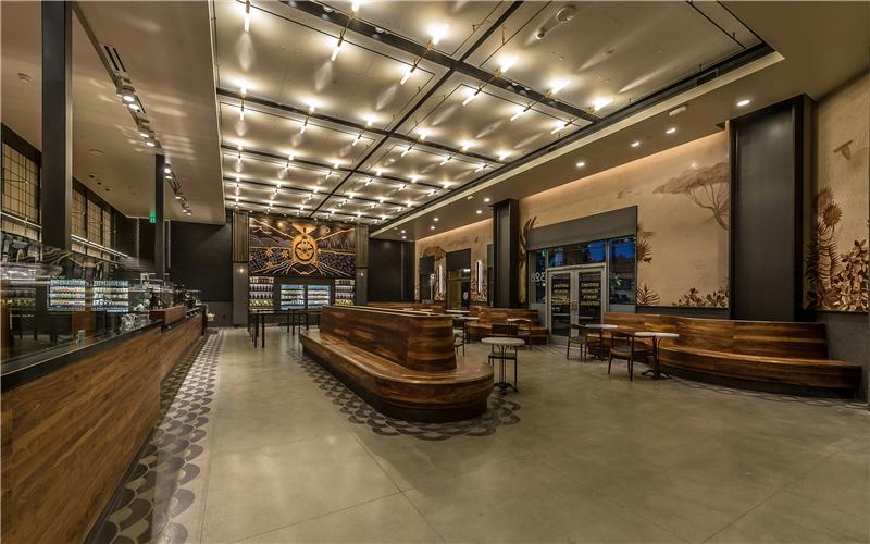 钢架结构主题餐厅设计
