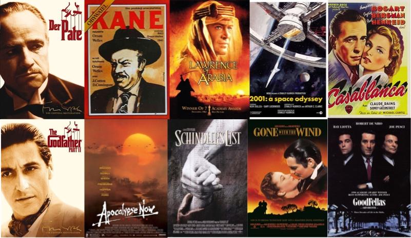 美国导演工会选了 80 部 80 年来的最佳导演电影,但 21 世纪入选作品仅有 4 部 | 理想生活实验室 - 为更理想的生活
